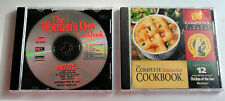 Two Cookbooks - The Complete Interactive Cookbook and Womans Day Cookbook CD-ROM