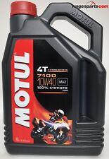 MOTUL 7100 10W40 4T, 4 litros