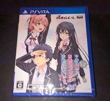 PS VITA Yahari Game demo Ore no Seishun Love Come wa Machigatteiru. Zoku JP NEW