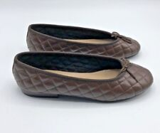 Hirica Women Brown Low Heel Ballerinas Shoe Size 6.5 EUR 37 Pre Owned