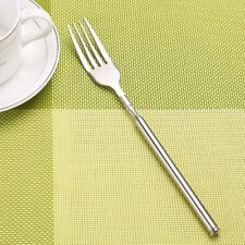 Telescopic Extendable Long Handle Fork Stainless Steel Cutlery Kitchen Tool