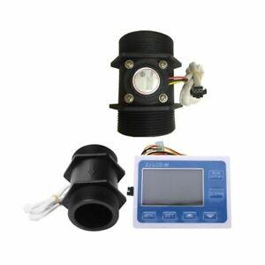 2 Inch Flow Rate Water Sensor Meter+Lcd Digital Display Control & DN50 Plas