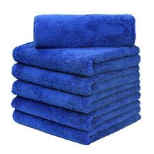 "12Pcs Microfiber Towel Auto Cleaning  Drying Polishing Detailing  16"" x 24"" Blue"