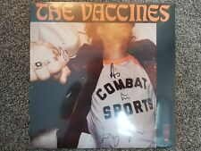 The Vaccines Combat Sports Limited Edition Signed LP Album