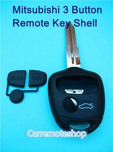 Mitsubishi Lancer Outlander Mirage & Colt 3 Button Remote Key Shell MIT 11R