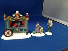 "Dept 56 Heritage Village-""The Old Puppeteer"""