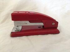 """Swingline 99 Red Stapler Retro Desk Decor 4-3/4"""" Vtg MCM"""