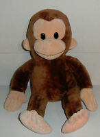 Kohl's Cares for Kids Curious George Monkey Plush Stuffed Animal Excellent Cond.
