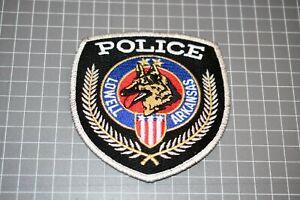 Lowell Arkansas Police K-9 Patch (S03-1)