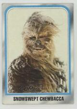 1980 Topps Star Wars: The Empire Strikes Back Chewbacca Snowswept #238 f9p