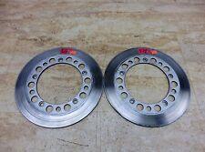 1983 Honda Shadow VT750 H1406-5. front brake rotors discs left right