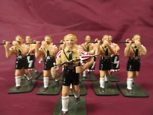 KING & COUNTRY #HJ1 MARCHING YOUTH WITH FIFES TOY SOLDIER SET                 27