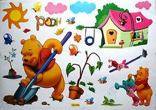 Winnie l'Ourson Autocollants Murales Enfants/ bébé Sticker Artistique