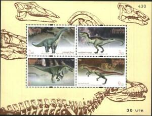 Mint  S/S Fauna  Dinosaurs 1997 from Thailand avdpz