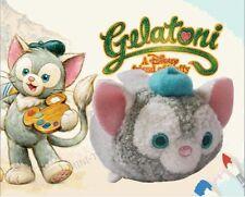 Genuine Hong Kong Disneyland Disney Tsum Tsum Duffy's Friend Gelatoni The Cat
