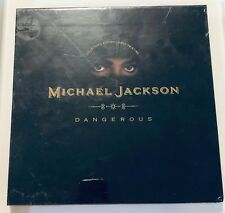 Michael Jackson Dangerous 1991 CD First Printing Collector's Edition NEW SEALED