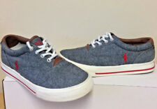 Vito Mens Boys Polo Ralph Lauren Tennis Shoes Denim RED PONY WORN ONCE EXC