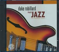 SEALED NEW CD Duke Robillard - Plays Jazz: The Rounder Years