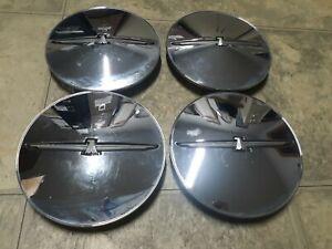 03 Ford Thunderbird factory chrome wheel center cap set