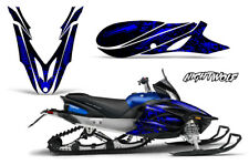 Yamaha APEX Decal Wrap Graphic Sticker Kit Sled Snowmobile 2012-2016 NIGHTWOLF U