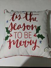 Decorative Christmas Pillows Tis the Season Home Decor