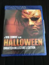 Rob Zombie : Halloween Unrated Collectors Edition (Blu-ray) Factory Sealed