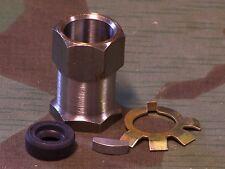 Knucklehead, Panhead, Shovelhead  Clutch Hub Nut Kit W/Key. 41-84  USA Made