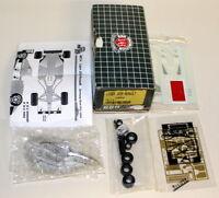 BBR Kit 1/43 Scale - MET14 Ligier JS39 Renault F1 1994 White Metal model car
