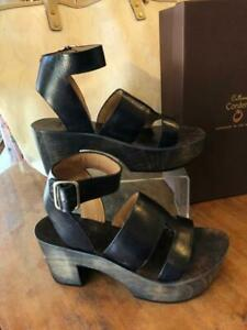 Calleen Cordero Leather Sandals, Size 8.5 (NEW in BOX!)