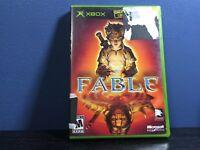 Fable 1 (2004) Black Label Original Microsoft Xbox