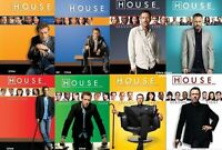 House MD M.D. Season 1 2 3 4 5 6 7 or 8 Choice of Individual DVD Sets New