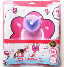 Hello Kitty Wand Uhr NEU Worlds Apart ready room glow leichtet 50 Sticker kinder