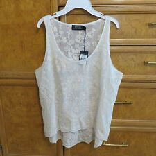 Women's Polo Ralph Lauren lace tank top size Large L brand new NWT $198