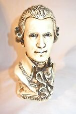Wolfgang Amadeus Mozart Bust Master Mind Composer Sculpture Statue NEW