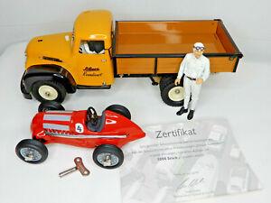 """Schuco Construction Pritschenwagen """"Schuco Renndienst""""  (216)"""