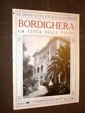 Bordighera, la città delle palme - Le Cento Città d'Italia illustrate
