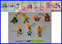 Set 7 Figura Dragon Ball Shenron Colgantes Goku Vegeta Majin Bu Figuras Gashapon
