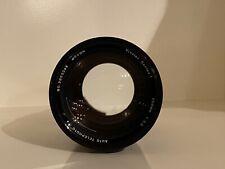 Excellent Vivitar Series 1 200mm f3 Lens [w/ UV Filter] [K/AR Mount]