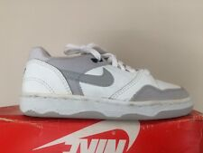 Vintage 1990's Nike Driving Force White/Grey Low Size 3 OG Basketball