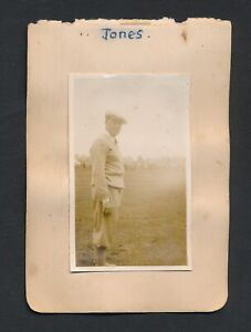 1930 Vintage Golf Autograph Sheet LEN HOLLAND/DJ BONTHRON (+ Bobby Jones Photo)