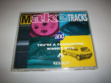 RENAULT MAKE TRACKS Promo CD (Kinks,Steve Harley,Stone Roses,Meatloaf etc)