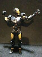 Marvel Legends 2012 Hasbro Black Suit Iron Man Action Figure Toy Rare Chase