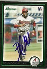 2010 Bowman BRANDON ALLEN Signed Card autograph DBACKS REDS CONROE, TX