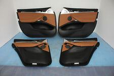 BMW X4 G02 G01 4x Door Panel Front Rear Left Right Leather Vernasca Cognac