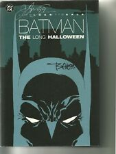 DC BATMAN THE LONG HALLOWEEN SIGNED HARDCOVER FIRST EDITION! NM!