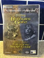 Baldur's Gate and Tales of the Sword Coast Expansion Discs Forgotten Realms PC
