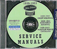 1939-1947 Ford 2N 9N Tractor CD with Shop Manual Parts Book and Assembly manual