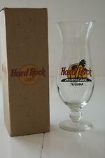Hard Rock Café Hurricane Glass Tijuana w/Recipe in Box L#713