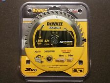 Dewalt Dt99561-qz 165mm x 20mm 42t Flexvolt Estremo durata Lama