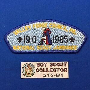 Boy Scout CSP 1985 National Jamboree Valley Forge Council Shoulder Patch JSP